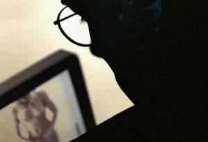 Pornografia on-line: banido na Índia Foto: Agência O Globo