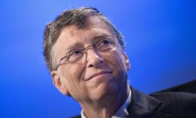 Dono da Microsoft, Bill Gates Foto: Brendan Smialowski / AFP