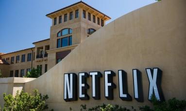 A sede da Netflix em Los Gatos, Califórnia Foto: David Paul Morris / Bloomberg