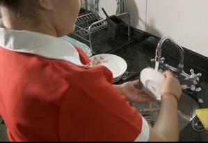 Serviço doméstico Foto: O Globo