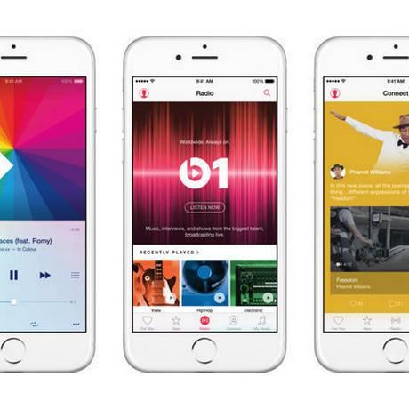 Apple Music: 11 milhões de usuários no período trial Foto: Divulgação