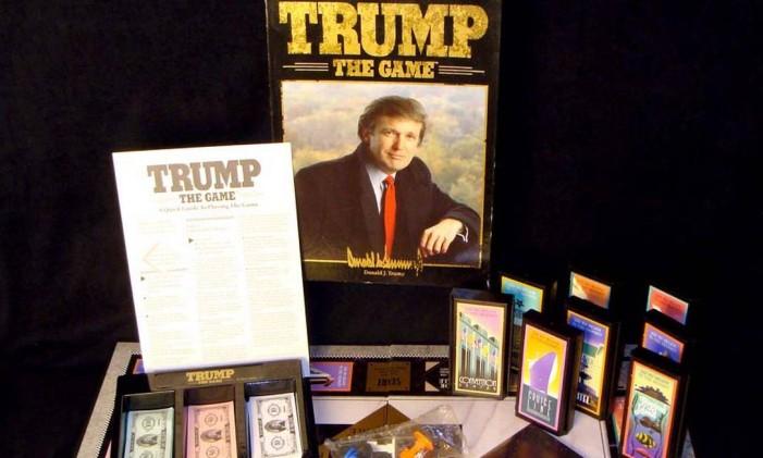 Versão de 1989 de Trump: the game Foto: Ebay / Divulgação