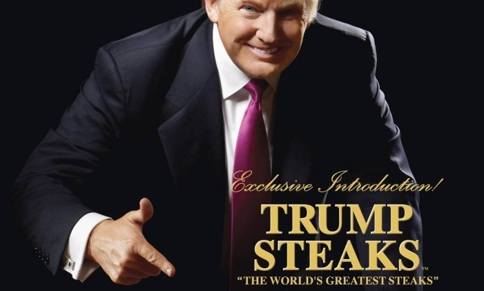 """Donald Trump na capa do catálogo """"Sharper Image"""" Foto: Reprodução"""