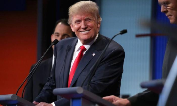 Trump no debate da Fox News Foto: Chip Somodevilla / AFP
