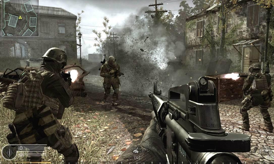 IX Rio de Janeiro (RJ) 09/11/2011 Call of Duty: Modern Warfare 3 - Foto Reprodução Foto: Agência O Globo