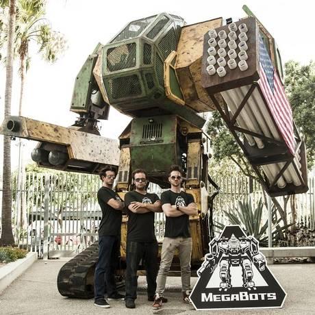 Mk. II: campanha para enfrentar um robô gigante japonês Foto: Divulgação