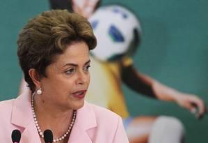 Dilma Rousseff Foto: Jorge William / Agência O Globo