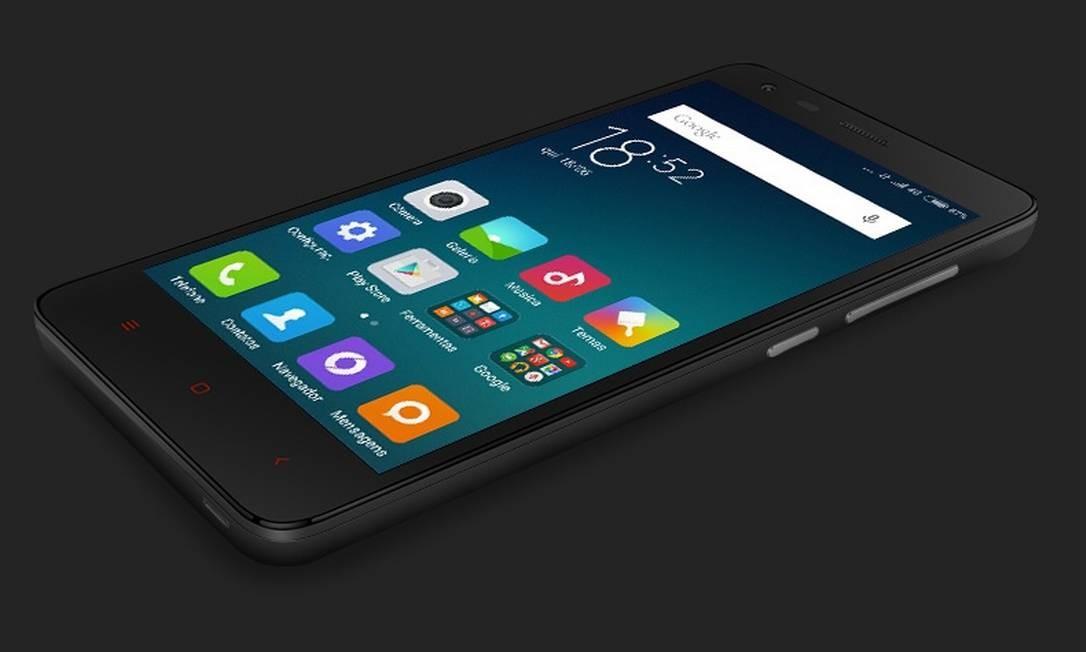 Smatphone Redmi 2, da Xiaomi Foto: Divulgação