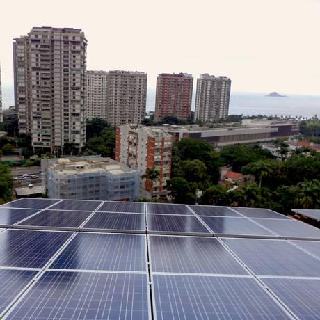 Governo lança programa de incentivo à geração de energia solar. Grupo de trabalho do Ministério buscará meios de financiar equipamentos para consumidores residenciais Foto: Agência O Globo/Divulgação