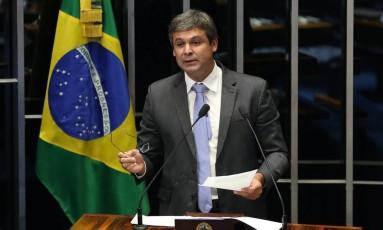Senador Lindbergh Farias (PT-RJ) Foto: Ailton de Freitas / Agência O Globo