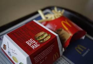 Índice Big Mac: Brasil cai do 4º para o 14º lugar Foto: Luke Sharrett / Bloomberg