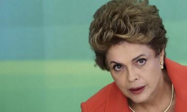 Presidente Dilma Rousseff Foto: REUTERS