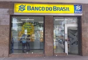 Agência do Banco do Brasil no Rio de Janeiro Foto: Priscila Belmonte / Agência O Globo