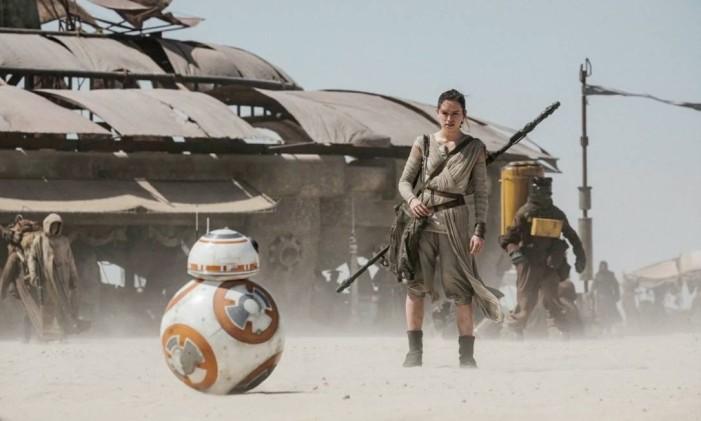 Filme Star Wars: Episódio VII - O despertar da força Foto: Agência O Globo