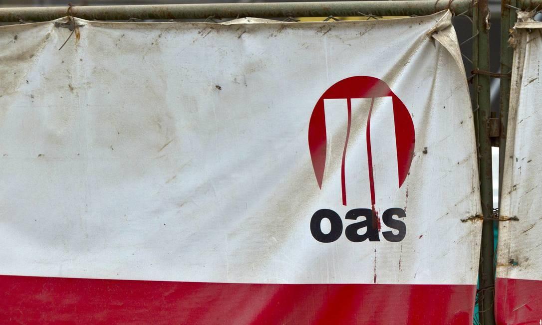 Obra da OAS Foto: Dado Galdieri / Bloomberg