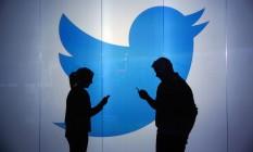 Twitter prevê resultados abaixo do esperado para o primeiro trimestre deste ano Foto: Chris Ratcliffe / Bloomberg