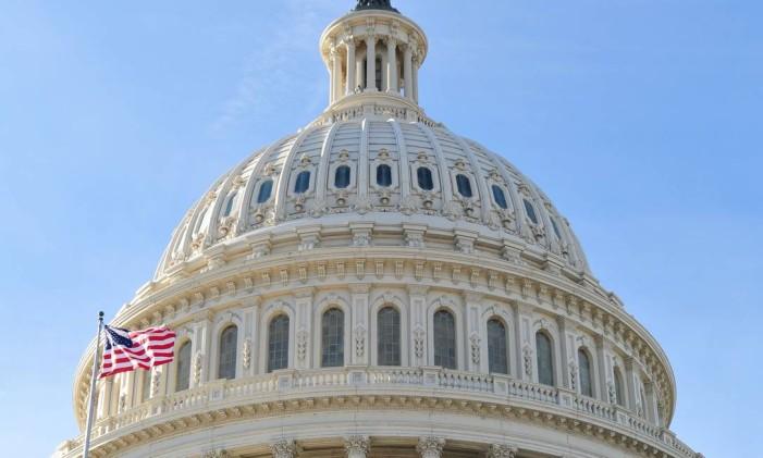 Congresso dos Estados Unidos, em Washington Foto: Karen Bleier / AFP