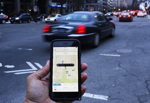 Uber vai ampliar investimentos em mercados emergentes Foto: Andrew Caballero-Reynolds / AFP
