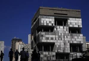 Sede da Petrobras na Av. Chile, Centro do Rio Foto: Dado Galdieri / Bloomberg