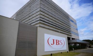 JBS Food em Itajai Foto: Lucas Tavares / Agência O Globo