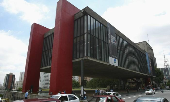 Museu de Artes de São Paulo, na Avenida Paulista Foto: Michel Filho /