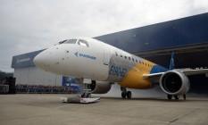 E190-E2, novo modelo de jato comercial da Embraer Foto: Divulgação