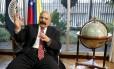 Presidente do Banco Central da Venezuela, Nelson Merentes Foto: Carlos Garcia Rawlins / Reuters