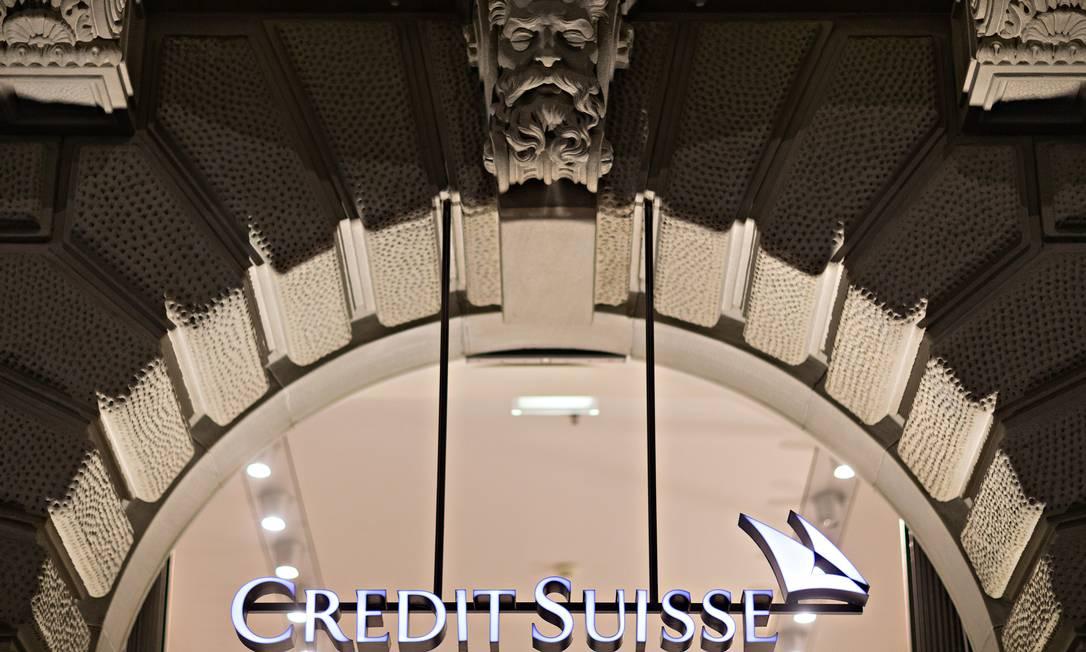 Sede do Credit Suisse, em Zurique, Suíça Foto: Michele Limina / Bloomberg