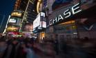 Times Square, em Manhattan, Nova York Foto: Craig Warga / Bloomberg
