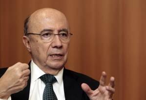 Henrique Meirelles, ex-presidente do BC Foto: Eliaria Andrade / Agência O Globo