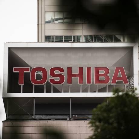Sede da Toshiba, em Tóquio Foto: Akio Kon / Bloomberg