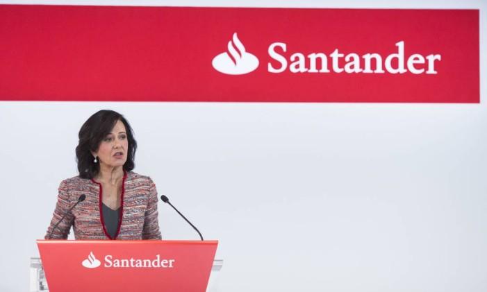 Ana Patricia Botin, presidente do Banco Santander na Espanha Foto: Angel Navarrete / Bloomberg