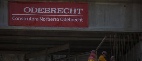 Obra da Odebrecht Foto: Dado Galdieri / Bloomberg