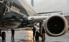 Avião da Boeing Foto: Jason Redmond / AFP