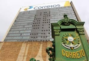 Sede dos Correios em Brasilia Foto: Sergio Marques / Agência O Globo
