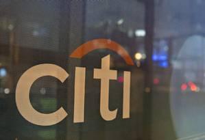 Letreiro do Citigroup Foto: Andrew Harrer / Bloomberg
