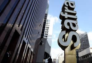 Sede do Banco Safra, na Avenida Paulista Foto: Fernando Donasci / Agência O Globo