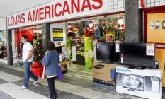 Lojas Americanas Foto: Felipe Hanower / Agência O Globo