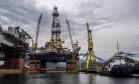 Instalações da Petrobras em Angra dos Reis Foto: Dado Galdieri / Bloomberg