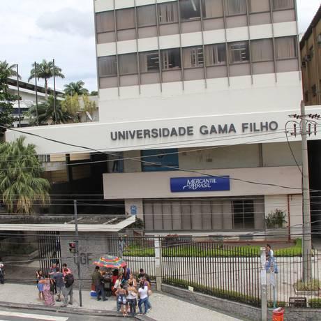 Universidade Gama Filho Foto: Marco Arcoverde / Agência O Globo