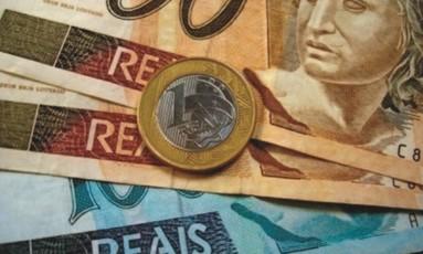 Notas e moedas de real Foto:
