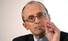 Andrea Enria, presidente da Autoridade Bancária Europeia Foto: Hannelore Foerster / Bloomberg
