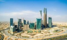 Arranha-céus do distrito financeiro de Riad, Arábia Saudita Foto: Waseem Obaidi / Bloomberg