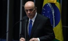 José Serra, ministro das Relações Exteriores Foto: André Coelho / Agência O Globo