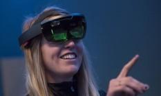 HoloLens, da Microsoft Foto: David Paul Morris / Bloomberg