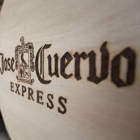 Barris da tequila Jose Cuervo em destilaria em Guadalajara, México Foto: Susana Gonzalez / Bloomberg