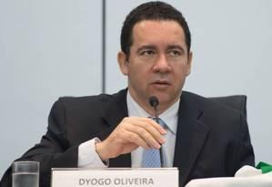 Dyogo Oliveira, ministro interino do Planejamento Foto: Marcelo Camargo / Agência Brasil