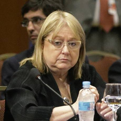 Ministra das Relações Exteriores da Argentina, Susana Malcorra Foto: Jorge Saenz / AP
