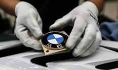Logo da BMW Foto: Dario Pignatelli / Bloomberg