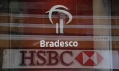 Bradesco e HSBC Foto: Carlos Ivan / Agência O Globo